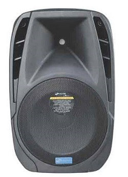 15 inch Portable PA Sound System on Rent