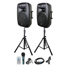2 top sound system on rent