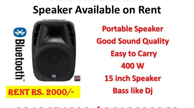 Dj Top Bluetooth Speakers 400 watts