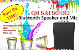 Sound system on rent near me in borivali